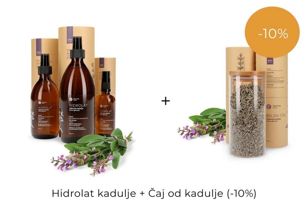 Čaj od kadulje na 10% popusta uz kupljeni Hidrolat ljekovite kadulje