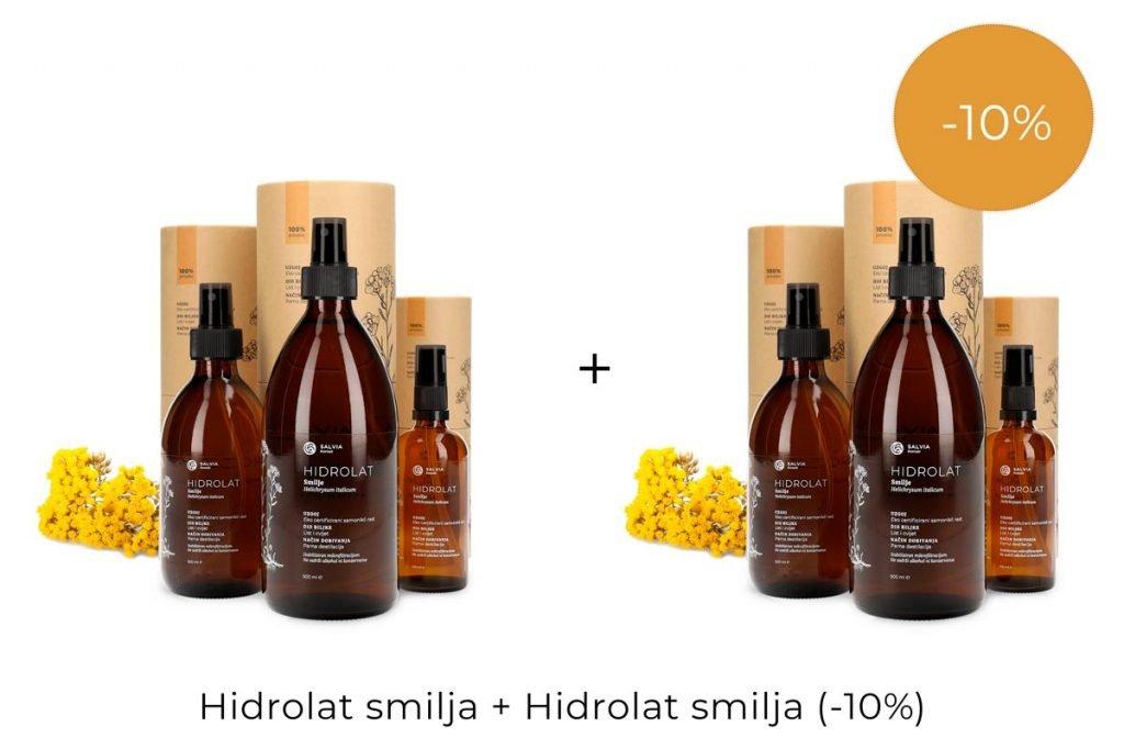 Hidrolat smilja - drugi hidrolat smilja na -10% popusta