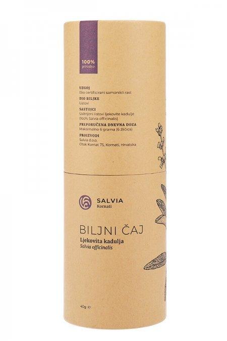 Čaj ljekovite kadulje (tuljac naprijed) - Salvia Kornati
