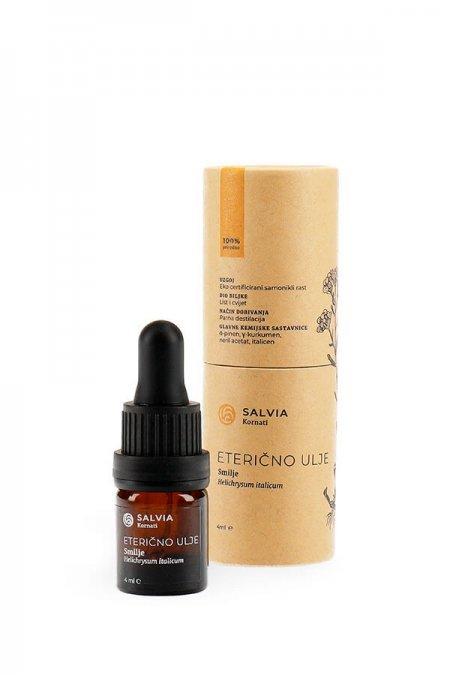 Eterično ulje smilja (pakiranje) - Salvia Kornati