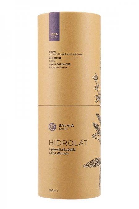 Hidrolat ljekovite kadulje 500ml (tuljac naprijed) - Salvia Kornati