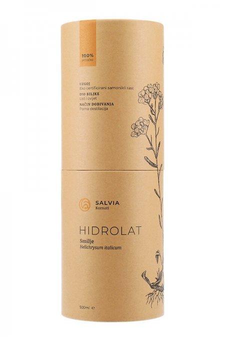 Hidrolat od smilja 500ml (tuljac naprijed) - Salvia Kornati