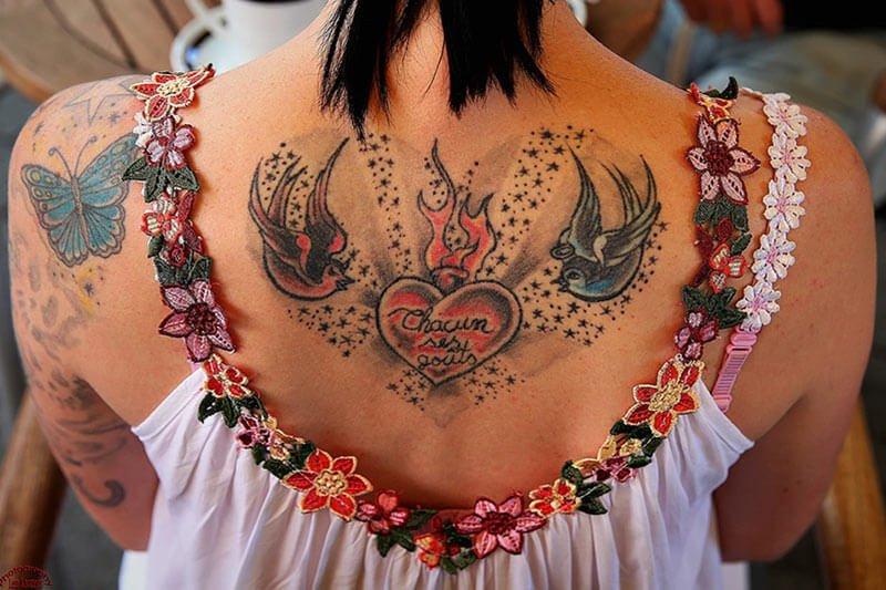 Njega kože nakon tetoviranja sa hidrolatom od smilja
