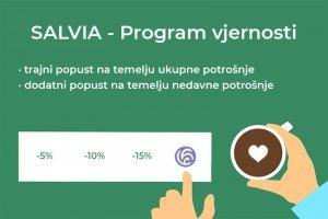 SALVIA Loyalty - program vjernosti